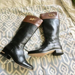 Michael Kors - Leather Riding Boots